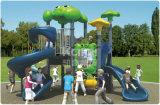 Patio al aire libre tamaño pequeño de la yarda de escuela del patio trasero para los niños
