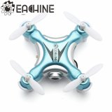 Eachine E10W миниое Quadcopter WiFi Fpv с 720p режимом 2 трутня оси СИД RC Nano Quadcopter камеры 2.4G 4CH 6