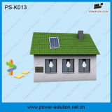 Het Systeem van de Verlichting van het mini LEIDENE Huis van de ZonneMacht met de Mobiele Lader van de Telefoon