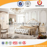 집 또는 호텔 사용 (UL-FT301A)를 위한 2016 현대 작풍 밝은 밤색 가죽 특대 편리한 침대