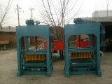 ミキサーが付いている機械装置を作る機械セメントの煉瓦を作る油圧半自動コンクリートブロック