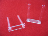 Quartz personalizzato Cell Quartz Cuvette con Long Tube
