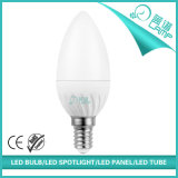 220V縞E14 5W LEDの蝋燭ライト