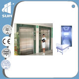미러 Stainless Steel Speed 1.0-2.0m/S Hospital Lift
