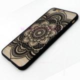 Móvil de TPU/caja florales clásicos transparentes del teléfono celular para Samsung