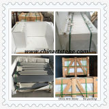 床およびステップのための中国の白または黒の性質の大理石のタイル