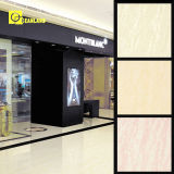 Natural semplice Clean Beige Porcelain Polished Tile in Stone