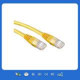 Cavo di Ethernet di comunicazione della rete del cavo di lan del gatto 5 UTP