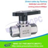 Vanne électromagnétique en laiton à haute pression d'OEM pour la machine de soufflement de PVC
