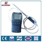 Oxígeno del detector de gas, monóxido de carbono, sulfuro de hidrógeno y detector múltiples portables de gas de metano