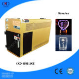 O melhor preço da máquina de gravura do laser 3D de cristal