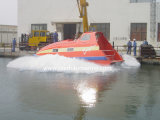 Totally de alta velocidad Enclosed Fast Rescue Craft Boat para Sale