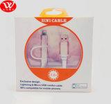 2 в 1 кабеле данным по USB с упаковкой