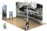 Stand portatif d'exposition de tissu de tension, présentoir, stand de drapeau (KM-BSH)
