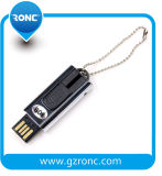 Movimentação feita sob encomenda da pena da memória Flash do USB do logotipo da capacidade total
