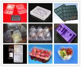 ふたPP/PS/Petの真空のThermoforming機械が付いているフルオートマチックの高速プラスチック食糧皿
