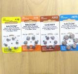 Batteria della protesi acustica della batteria 1.4V A675/A10/A13/A675 dell'aria dello zinco