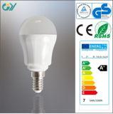 Bulbo de CRI>80 5W 6W 7W E14 LED (CE RoHS SAA)