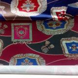 Одежда напечатанная сатинировкой и домашняя ткань тканья
