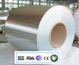 papel de aluminio del sellado caliente de 8011-O 0.038m m