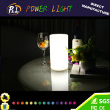 Lampe sans fil décorative en plastique colorée du pilier DEL