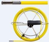 Appareil-photo de nettoyage d'égout de pipe de l'enregistrement vidéo 6mm de Wopson de tige pousseuse à vendre
