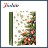 Weihnachtsbaum-Entwurfs-4c gedruckte kaufenträger-Geschenk-Papiertüten