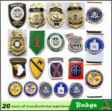 L'agrafe d'insigne/les militaires d'insigne policier Badge