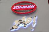 Professionelles kundenspezifisches der Qualitäts-3D Acrylacrylauto-Zeichen auto-des Firmenzeichen-/LED