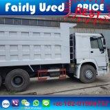 Autocarro con cassone ribaltabile utilizzato commercio all'ingrosso di 336HP HOWO 6X4 del ribaltatore di HOWO