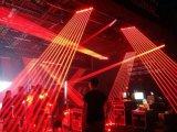 Laser vermelho do feixe