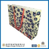 Sacchetto di acquisto di carta di modo con la maniglia del cotone (GJ-bag123)