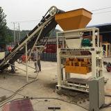 Máquina de pavimentação concreta semiautomática que faz a linha
