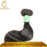 Form-brasilianische Jungfrau-Haar-Extensions-Haar-Verkäufer-Karosserien-Welle (FDXI-BL-111)