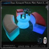 Cheap Price Plastic LED Bar Furniture pour Nightclub