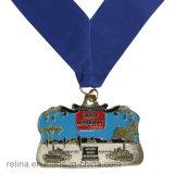 Medalla corriente modificada para requisitos particulares profesional del maratón con la cinta impresa