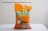 Litière du chat tissée de bille de sac--Groupement intense