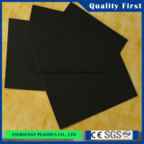 Freies PVC Sole Rigid Sheets Black für Shoes 3mm