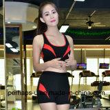 Alta qualità che asciuga rapidamente il vestito pareggiante di forma fisica delle donne del vestito di sport