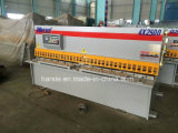 QC12y 시리즈 디지털 표시 장치 유압 4*2500 철 장 그네 광속 깎는 기계 Harsle 고품질 제품