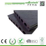 Decking esterno composito di plastica di legno