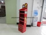 Papprunzelte freie stehende kosmetische Fußboden-Bildschirmanzeige mit Cmyk Drucken, Resuable Ausstellungsstand