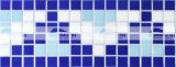 azulejo de mosaico de cristal de fusión de la frontera del diseño de la pirámide de 20X20m m (BGEB004)