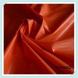 tela de la guarnición del tafetán del poliester 210t en color sólido