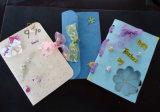 Colorir o cartão em branco do cartão de papel/DIY/recordar o cartão