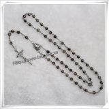 Branelli di vetro rosario, branelli di vetro del rosario, rosario di vetro poco costoso (IO-cr331)