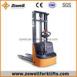 Impilatore elettrico con 1.2 altezza di sollevamento di capienza di caricamento di tonnellata 1.6m