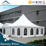 L'Inner Mongolia Circus 5X5m Pagoda Marquee Tent avec Wooden Floor