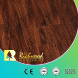 광고 방송 8.3mm E0 HDF Maple Oak Waxed Edge Wooden Wood Laminate Flooring