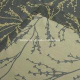 2016 Chimonanthus Fragrans Diseño de la cortina de la ventana Tela